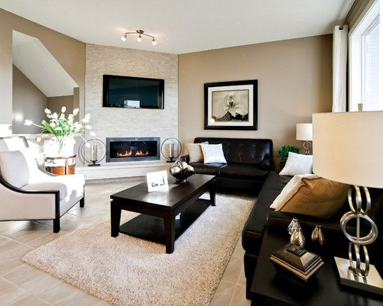 20 Appealing Corner Fireplace In The Living Room
