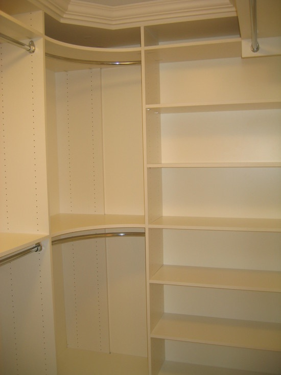 Good Amazing Diy Closet Shelves Ideas For Beginners And Pros With Corner  Clothes Rod.