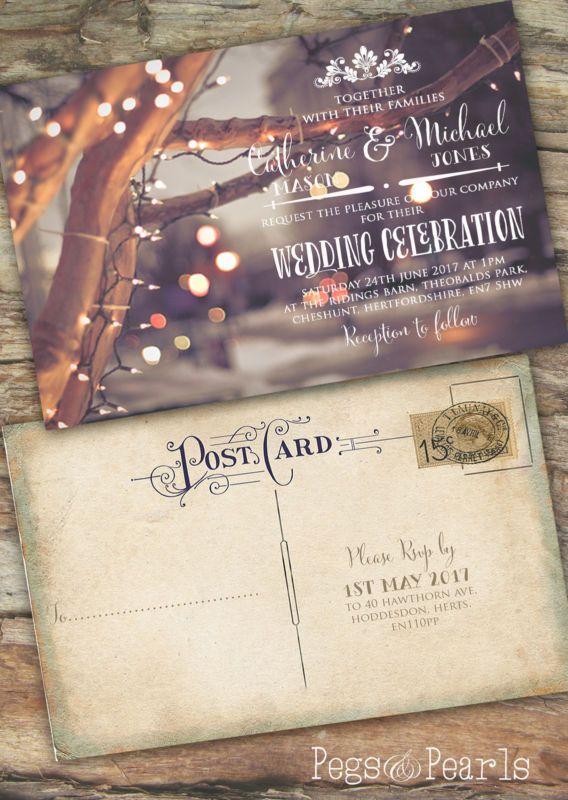 19 best Christmas Wedding Invitations images on Pinterest