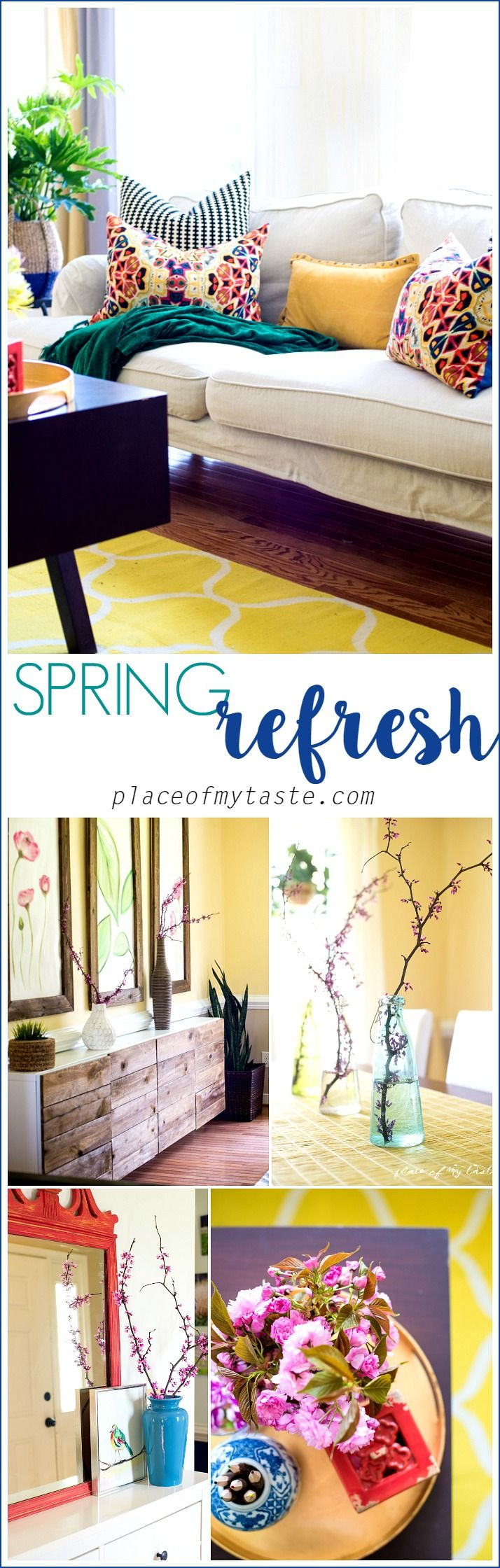 Spring Refresh. Spring DecorationsSummer DecoratingApartments DecoratingLiving  Room IdeasLiving ...