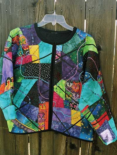 No Sew Quilted Jacket Sewing Pattern