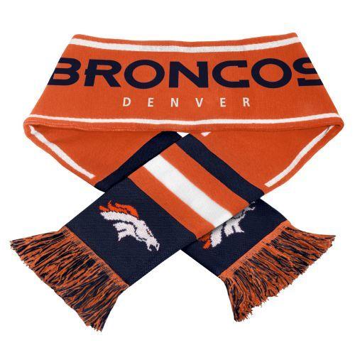 NFL Denver Broncos Scarf | Denver Broncos | Calendars.com - $17.99