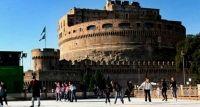 #Grinzing #Village fare pattinaggio sul ghiaccio a #Castel Sant'Angelo!!!!