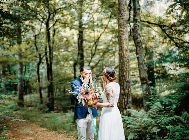 Misschien wel het meest romantische van jullie dag! //Foto: Hanke Arkenbout.