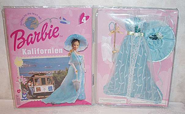 Barbie Kleidung + Zeitschrift von Kalifornien Barbie / neu