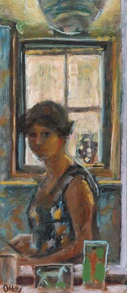 Self Portrait c. 1965, Margret OLLEY