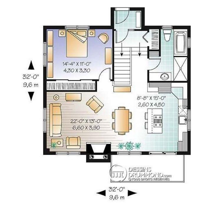 Plano De Casa Moderna Interior En Planos New Home Ideas