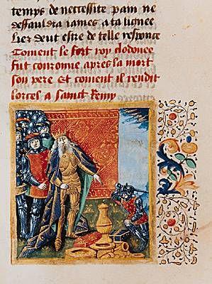 Vase de Soissons. - CLOVIS °. 3) BIOGRAPHIE. 3.3.3: LEGENDE DU VASE DE SOISSONS, 5: Le testament de saint Rémi mentionne un vase d'argent que lui aurait donné Clovis. Mais ce serait Rémi qui l'aurait fondu pour fabriquer un encensoir et un calice.