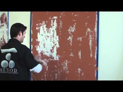 DIY: Glazed Old World Plaster Faux Finish with Stenciled Raised Plaster Details  - FABULOUS step-by-Step Video Tutorial!!