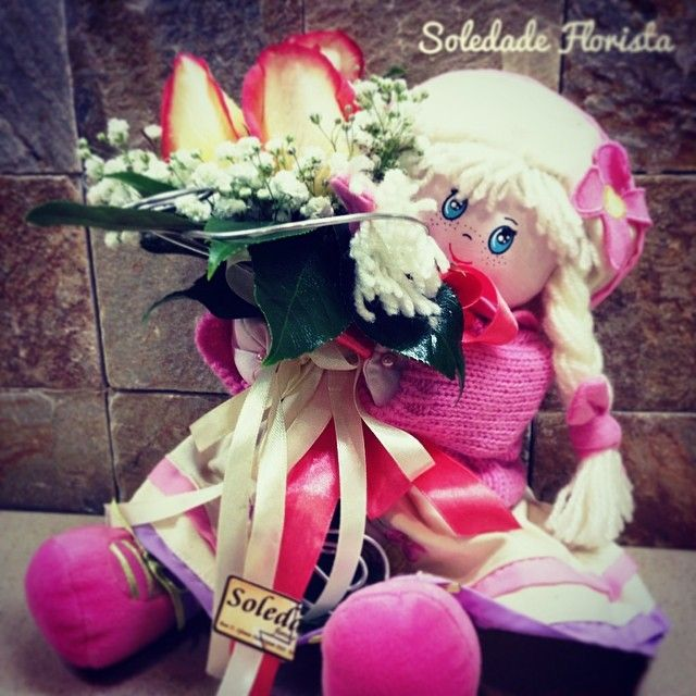 Um presente especial para as recém mamãs!!! <3 #soledadeflorista #flores #mamãs #portugal