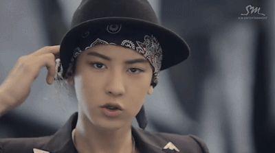 Wolf - Chanyeol's rapping habit (3/6)