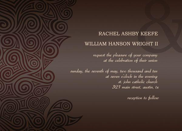 Post Wedding Invitations Reception: Post Wedding Reception Invitation Templates