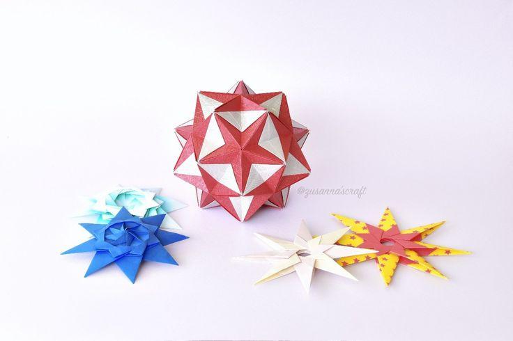 Origami #kusudama #origami  #zusannascraft #myfolding #zusannasphotography
