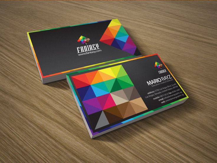 13 best Color NameCard images on Pinterest Business cards, Visit - name card