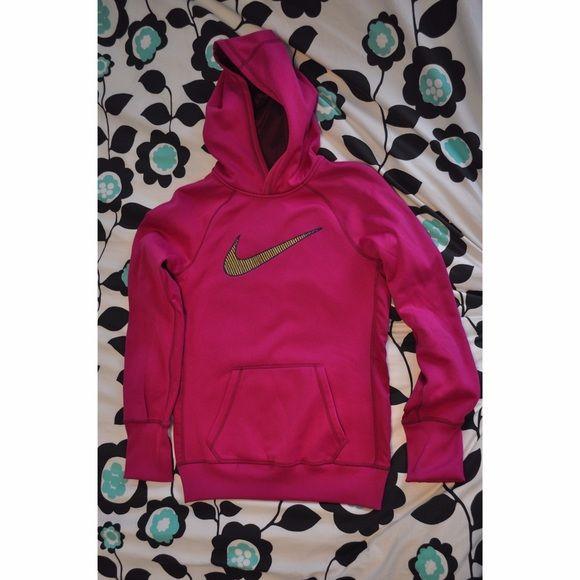 Nike sweatshirt women's Nike sweatshirt worn once, in great condition. It is a women's small. Nike Tops Sweatshirts & Hoodies