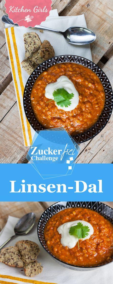 Indisches Linsen-Dal ist ein Klassiker und lässt sich auch ohne lange Vorbereitung zubereiten. Hier findest du das zuckerfreie Rezept.