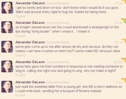 Angelface Alex DeLeon - @Alexander de Leon