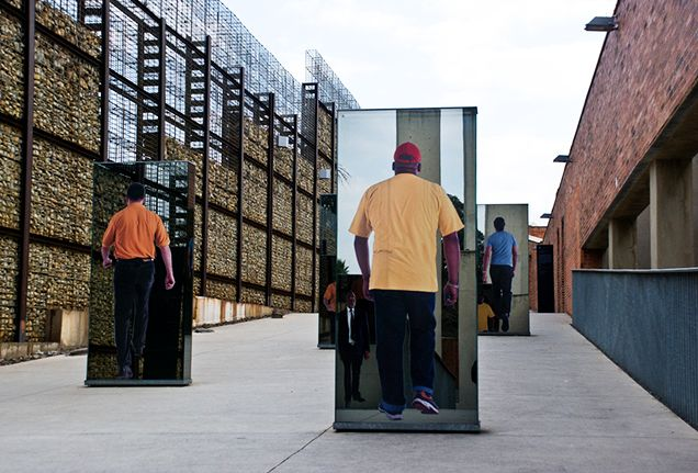 Take a step back in time at the Apartheid Museum, where you'll be immersed in the divided culture that's part of South Africa's history.