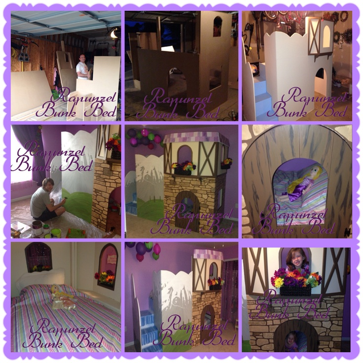 rapunzel room bunk bed 3 4 beds room ideas parties forward rapunzel