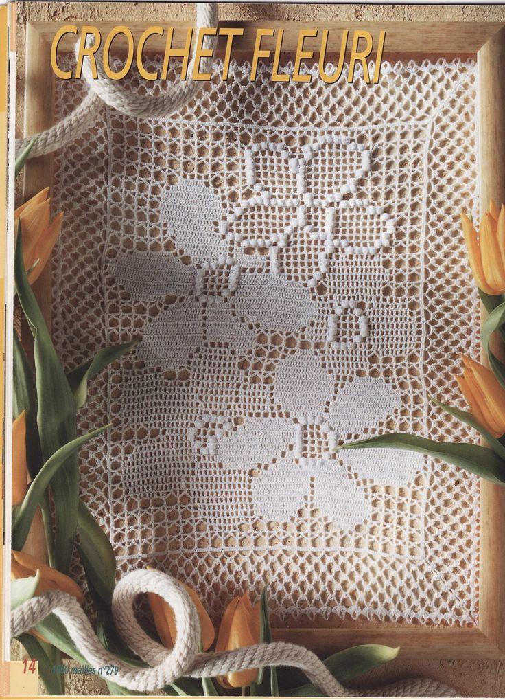 171 best Häkeln Tischläufer / crochet tablerunner images on ...