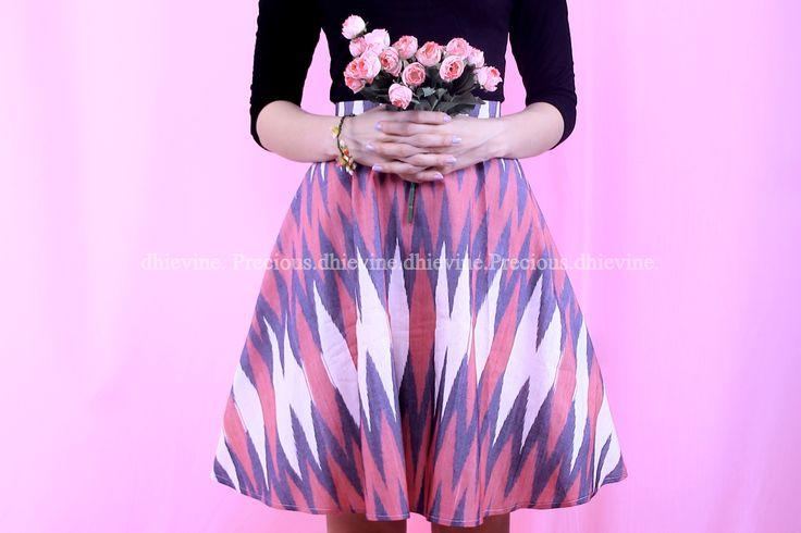 Tenun Rang Rang | Skirt | |Musgravite Pink Skirt | DhieVine | Redefine You