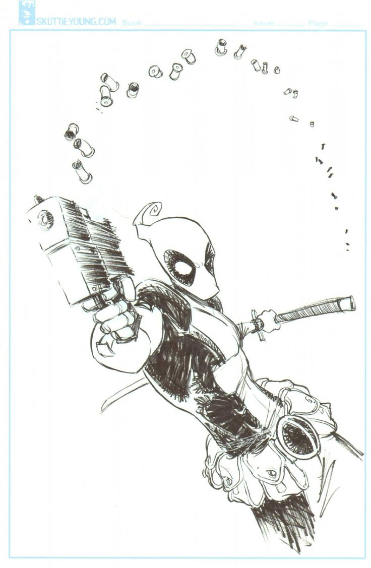 Deadpool by Skottie Young