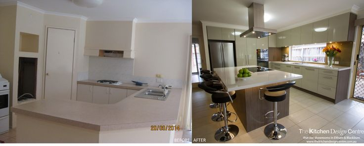Before & After - Contemporary Kitchen