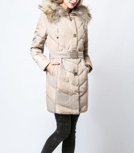 Modny ciepły zimowy płaszcz MR-K22