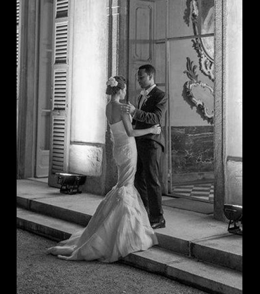 Chrissy Teigen and John Legend (married September 2013 in Italy)