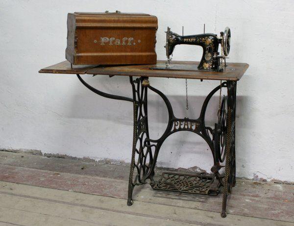 Швейная машинка Pfaff, 1907г