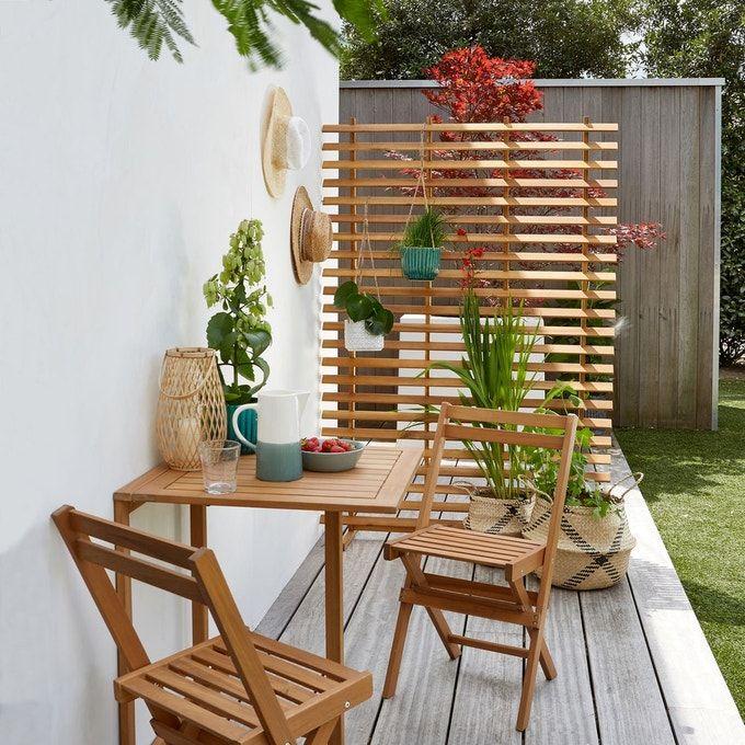 Claustra De Jardin Wassif En 2020 Treillis Bois Decoration Balcon Claustra