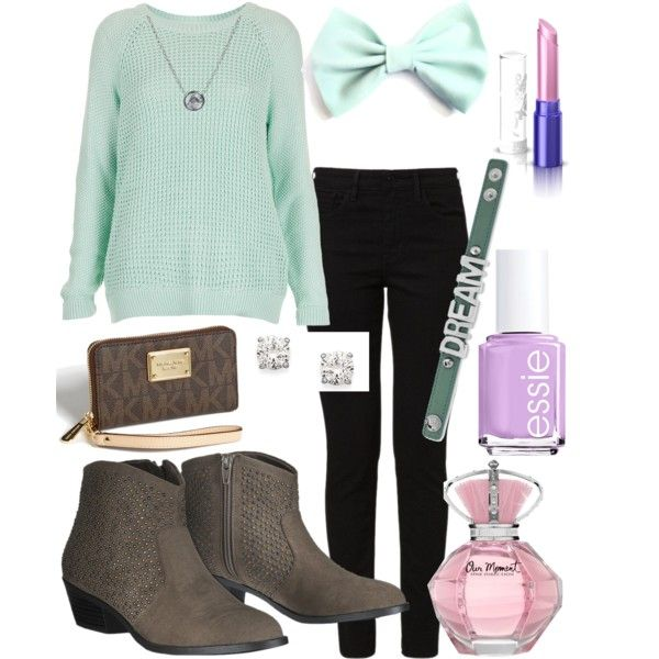Love this! Well put together. Plus i have a lot of bows and that perfume! <3