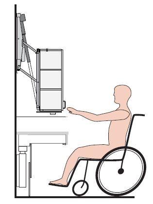 les 25 meilleures id es concernant fauteuil roulant sur pinterest salle de bains pour. Black Bedroom Furniture Sets. Home Design Ideas