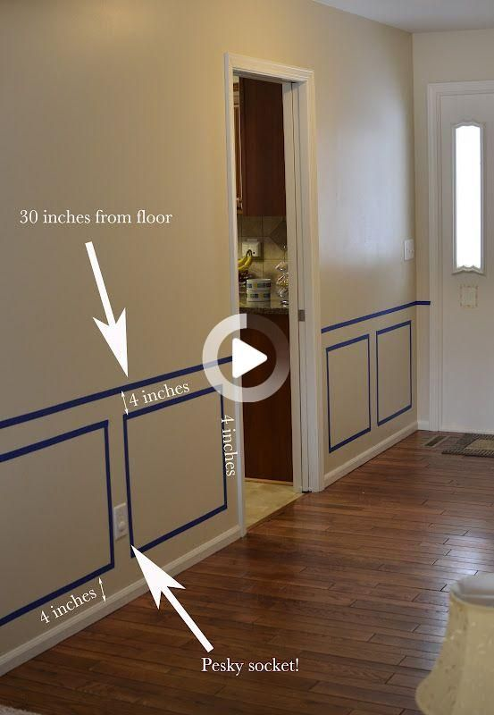 Real Techniques Brushes Samantha Chapman In 2021 Dining Room Wainscoting Home Room Design Wall Paneling Diy