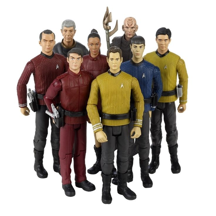 FIRST LOOK: 'Star Trek' action figures ready to beam up | Hero ...