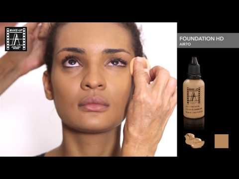 How to apply HD Foundation - Make-up Atelier Paris - YouTube