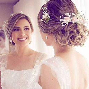 Lange Hochzeit Hochsteckfrisuren