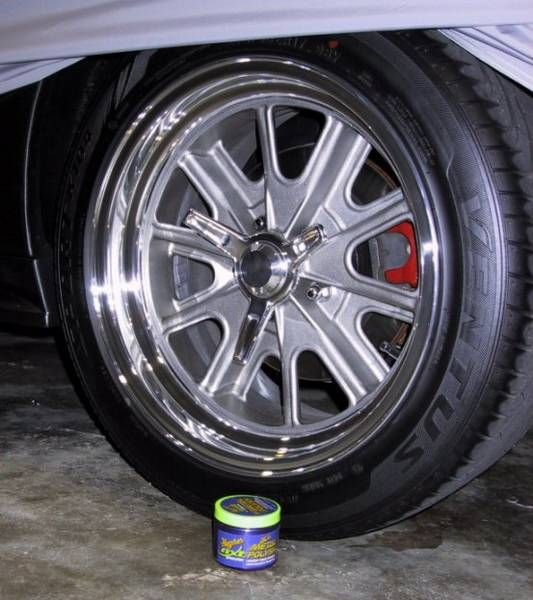 How to keep polished aluminum wheels shiny?