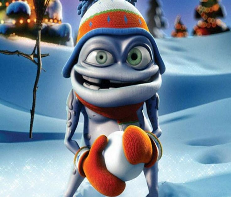 Crazy frog christmas cartoon wallpapers pinterest frogs - Frog cartoon wallpaper ...