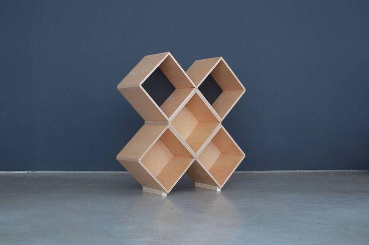 Nomad | No45x Bookcase - 5 modules