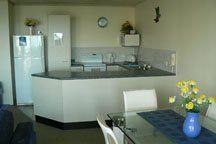Seafarer Chase Apartments - 2 Bedroom Apartment Kitchen - Caloundra Sunshine Coast Accommodation