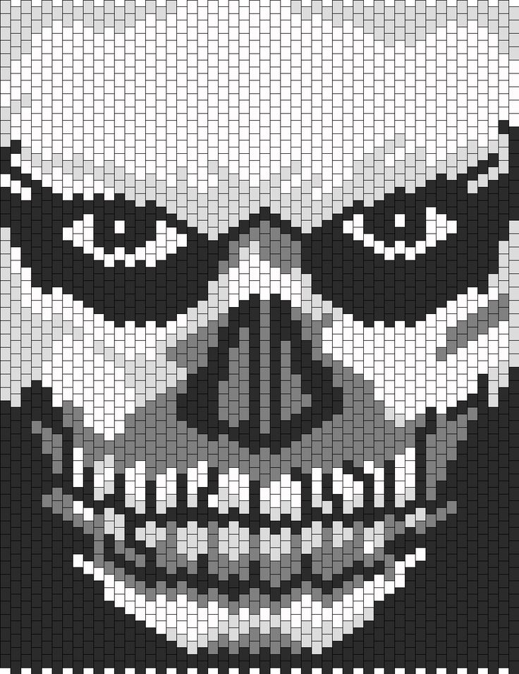American Horror Story Murder House Tate bead pattern ...