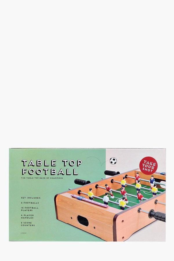 boohoo Table Top Football Game