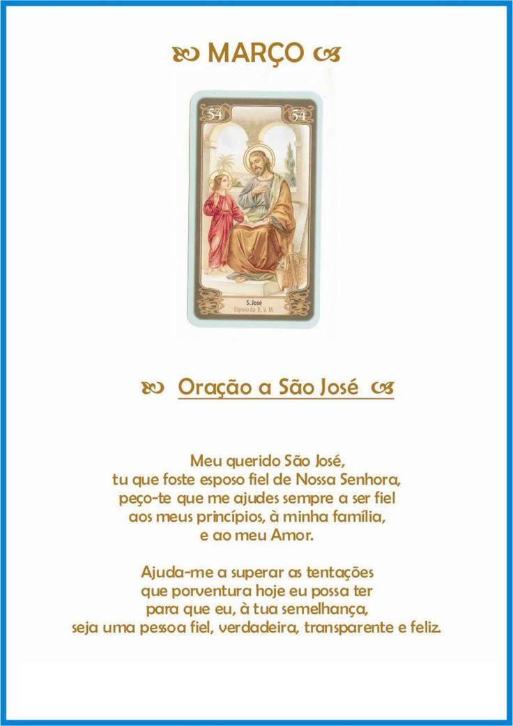 Oração de proteção para Março - São José