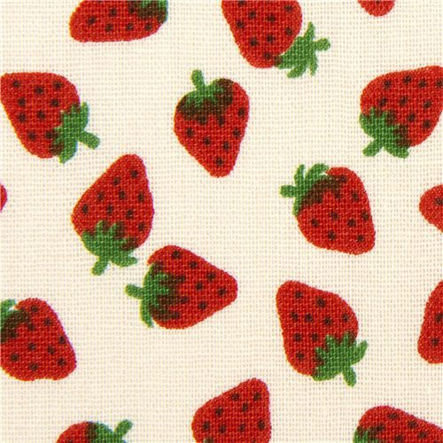 1000 Images About Strawberry Fabric On Pinterest