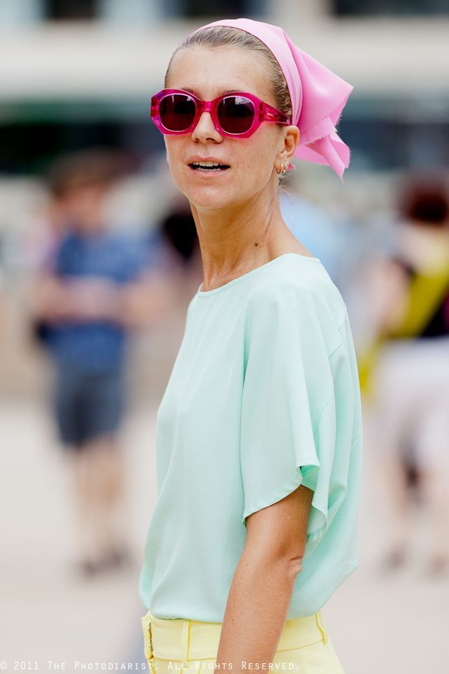 Natalie Joos: Summer Fashion, Fashion Clothing, Fashion Street Style, Oakley Sunglasses, Fashionstreet Style, Pastel Colors, Pastel Outfit, Natalie Joos, Mint Blouses
