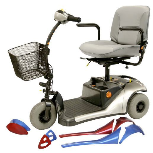 Product Name : Dasher 9 3-Wheel Scooter Price : $1,079.00 Free Shipping!