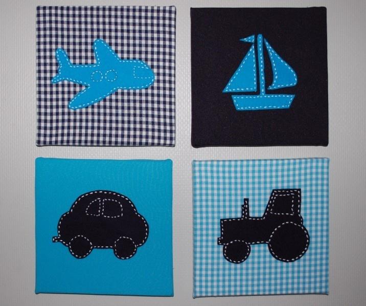 4 luik voertuigen Blauw