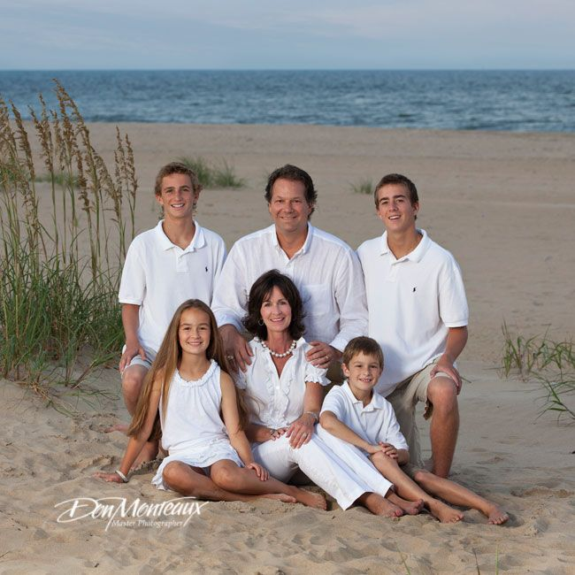 family beach photos | Family Beach Portraits of the Blomdahl Family, Virginia Beach ...