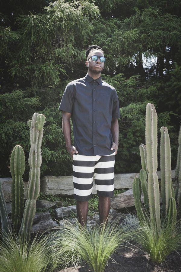 Of sharks and Men SS2015 Malcom shirt Adamo shorts